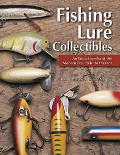 1940up old fishing lure collectibles reference guide over for Antique fishing lures prices