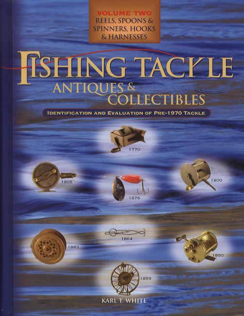 Pre 1970 antique fishing reels tackle lures id guide ebay for Vintage fishing rod identification