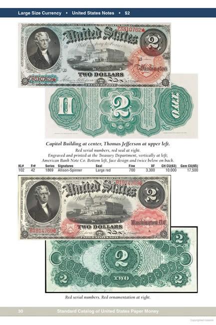 paper money collectors price guide