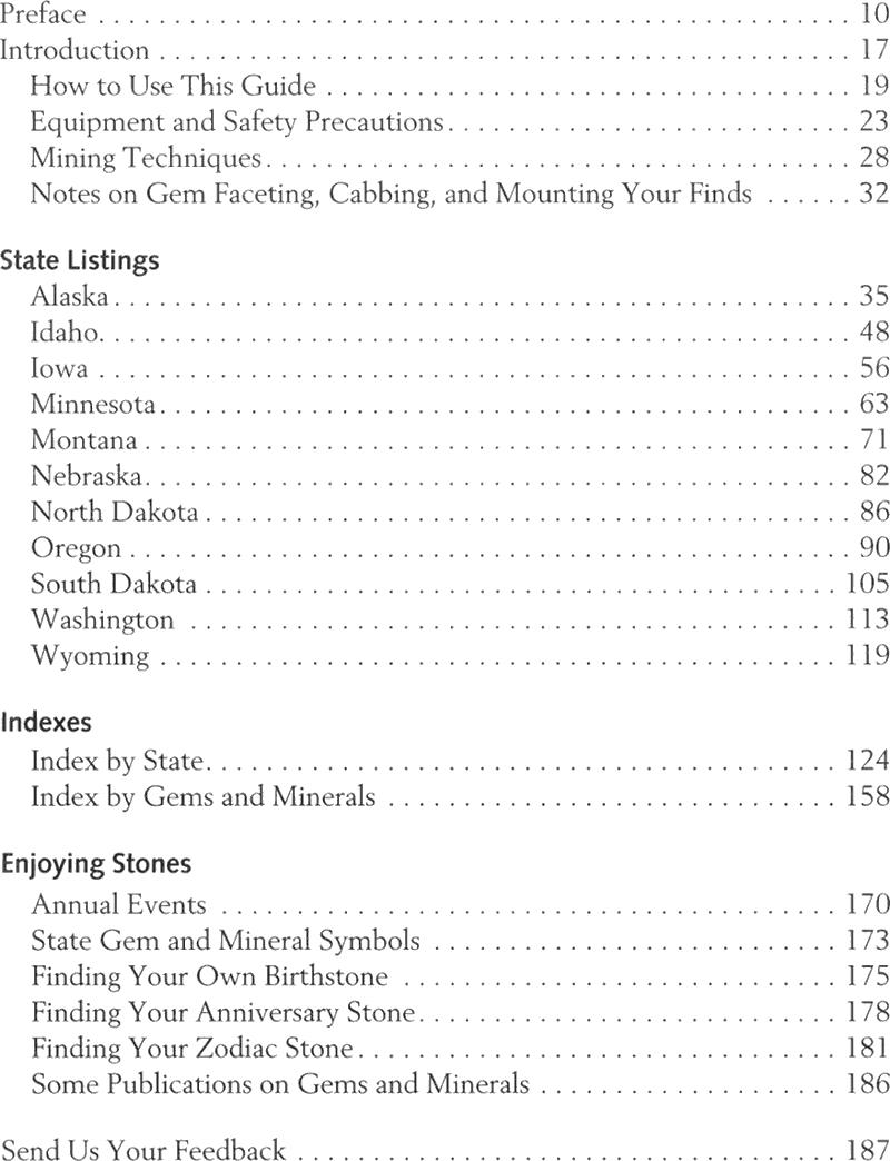 Details about Northwest Treasure Hunter's Gem Mineral Guide 6th Alaska Iowa  Oregon & More