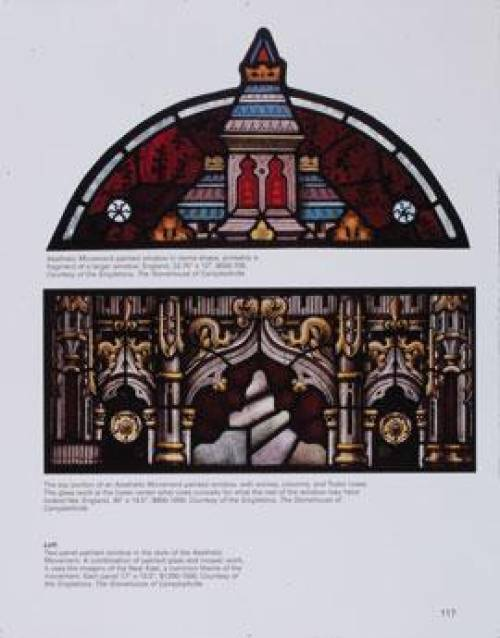Stained Glass Windows Doors Collectors Guide - Art Deco Panels 2