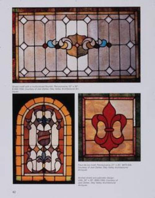 Stained Glass Windows Doors Collectors Guide - Art Deco Panels 3