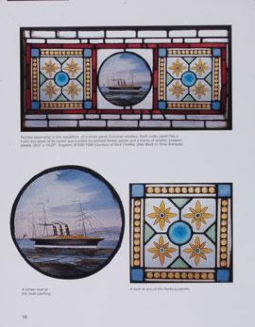Stained Glass Windows Doors Collectors Guide - Art Deco Panels 4